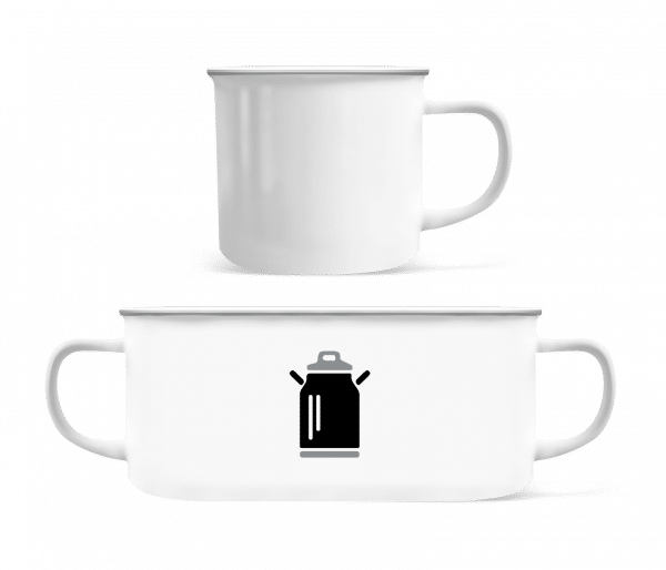 Thermos - Enamel-cup - White - Vorn