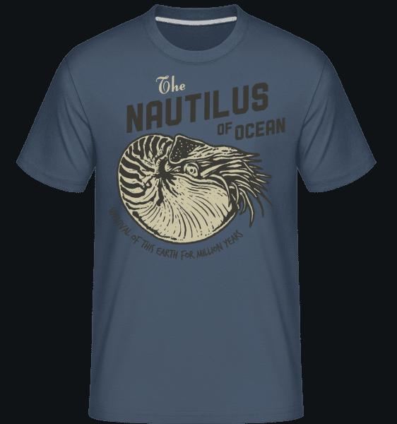 Nautilus -  Shirtinator Men's T-Shirt - Denim - Vorn