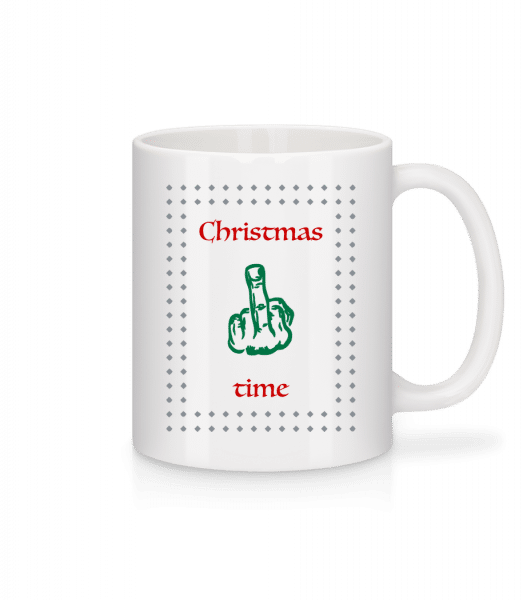 Christmas Time - Mug - White - Vorn