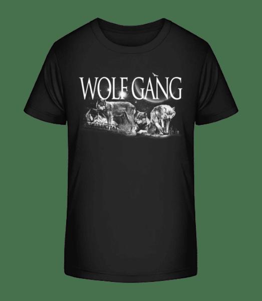 Wolf Gang - Kid's Premium Bio T-Shirt - Black - Vorn