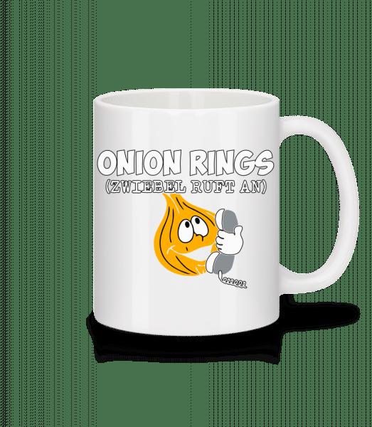 Onion Rings - Tasse - Weiß - Vorn