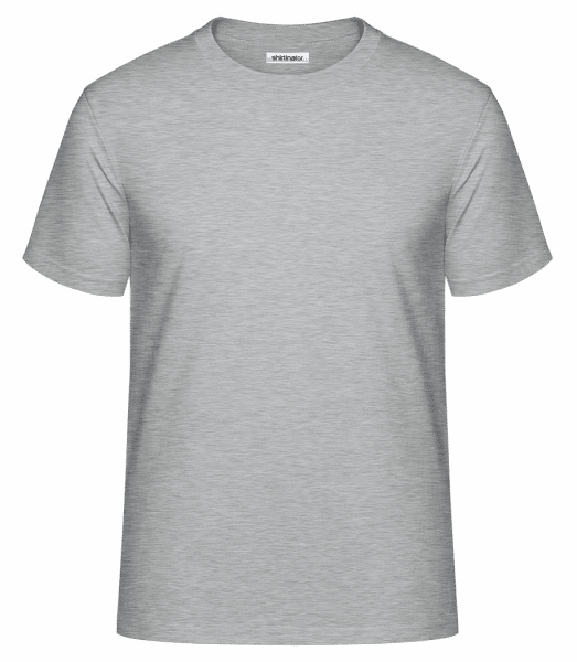 Men's Shirtinator Basic Shirt  - Heather grey - Vorn