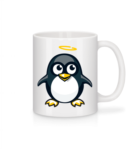 Angel Penguin - Mug - White - Front