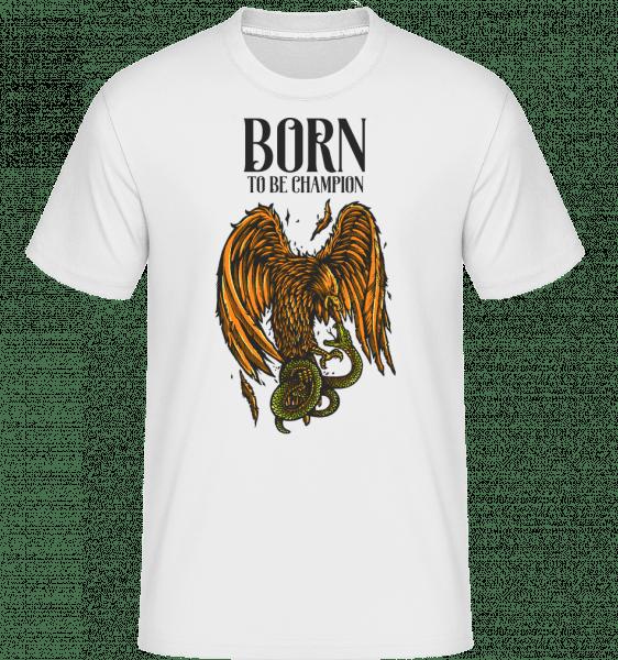 Eagle Versus -  Shirtinator Men's T-Shirt - White - Vorn