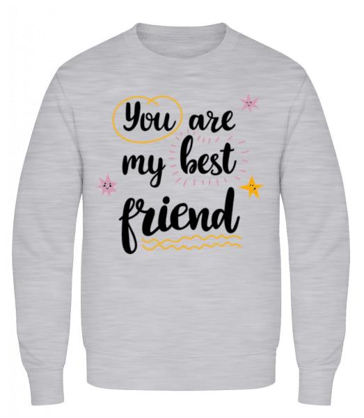 You Are My Best Friend - Men's Sweatshirt - Heather grey - Front