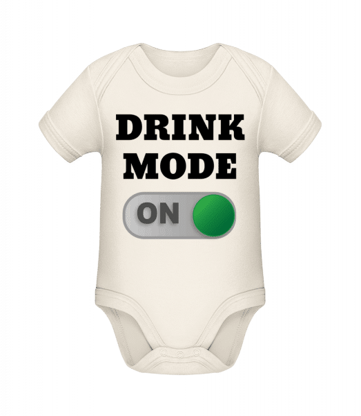 Drink Mode On - Organic Baby Body - Cream - Vorn