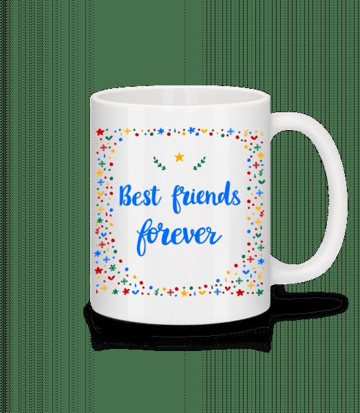Best Friends Forever - Mug - White - Vorn