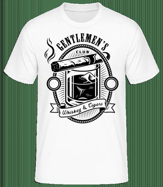 Gentlemen's Club - T-shirt standard Homme - Blanc - Vorn