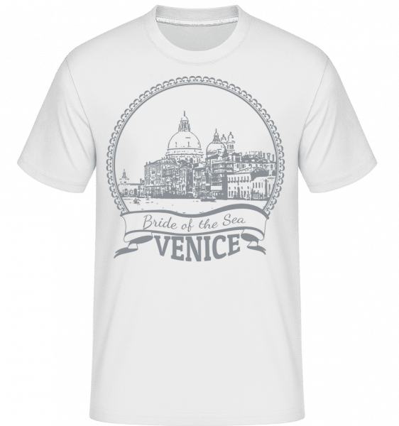 Venice Italy -  Shirtinator Men's T-Shirt - White - Vorn