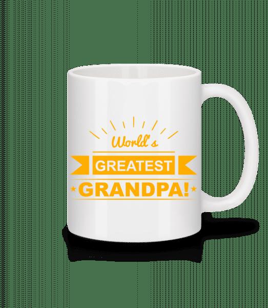 World's Greatest Grandpa - Mug - White - Vorn