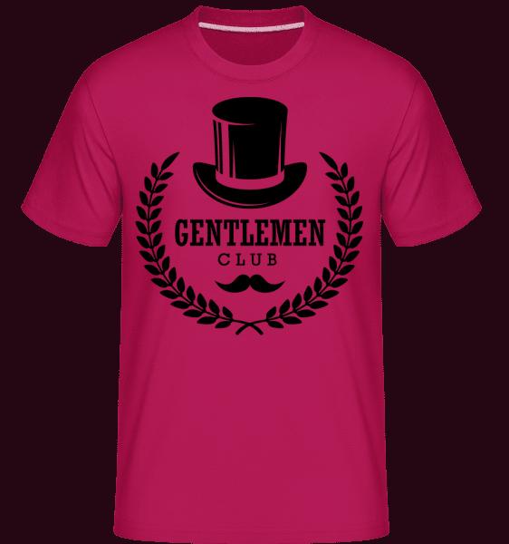 Gentlemen Club -  Shirtinator Men's T-Shirt - Magenta - Vorn
