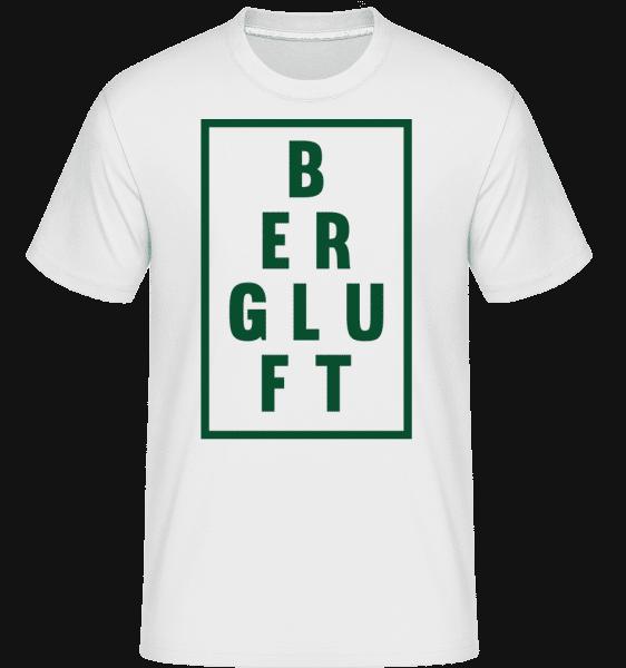 Bergluft - Shirtinator Männer T-Shirt - Weiß - Vorn