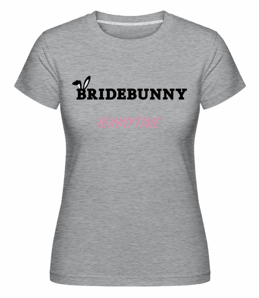 Bridebunny Bunnytime -  Shirtinator Women's T-Shirt - Heather grey - Vorn