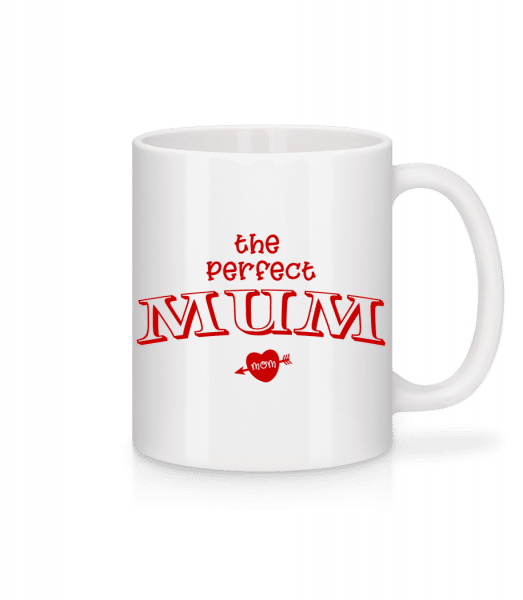 Perfect Mum - Mug - White - Vorn