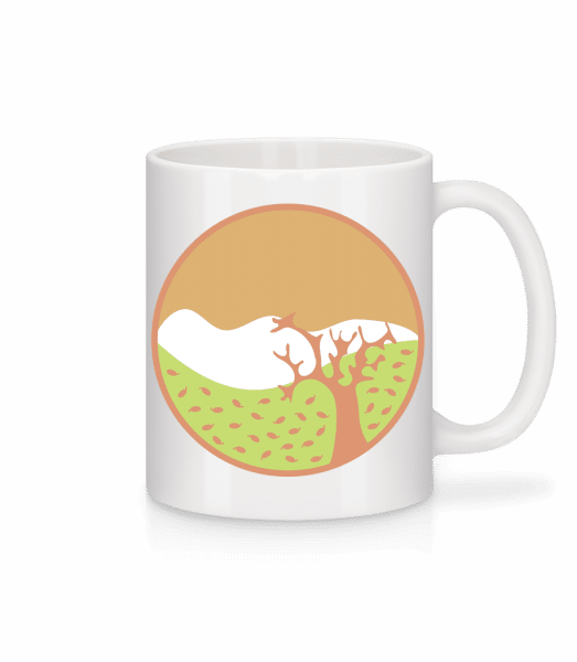 Autumn Landscape - Mug - White - Vorn