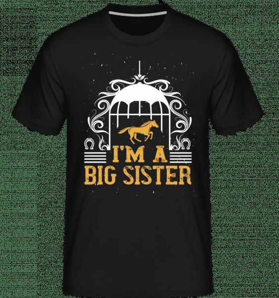 I'm A Big Sister -  Shirtinator Men's T-Shirt - Black - Vorn