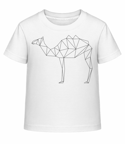 Polygon Camel - Kid's Shirtinator T-Shirt - White - Vorn