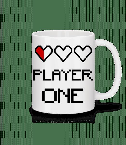 Player One - Mug - White - Front