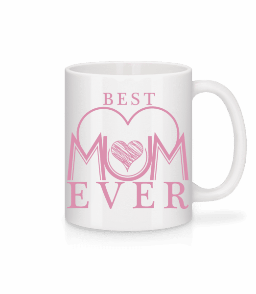 Best Mum Ever - Mug - White - Vorn