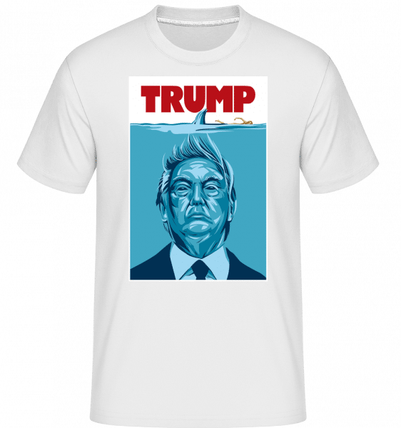 Trump -  Shirtinator Men's T-Shirt - White - Front