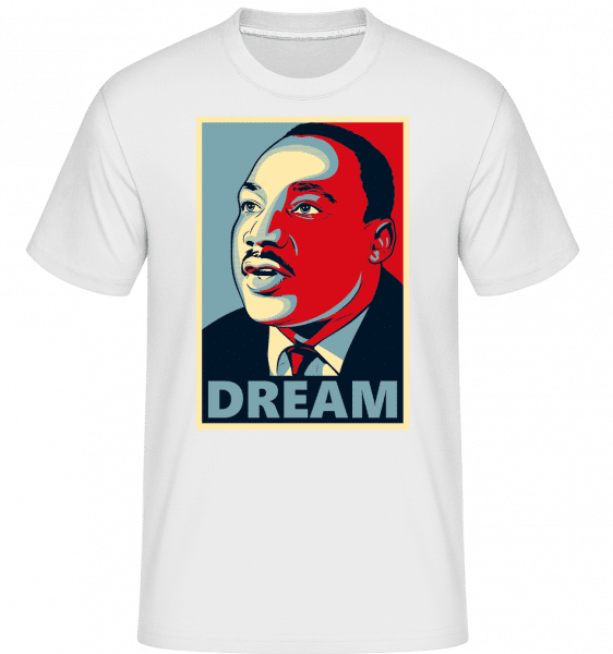 Dream -  Shirtinator Men's T-Shirt - White - Front