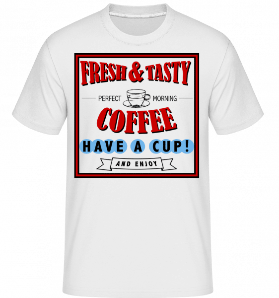 Fresh&Tasty -  Shirtinator Men's T-Shirt - White - Vorn