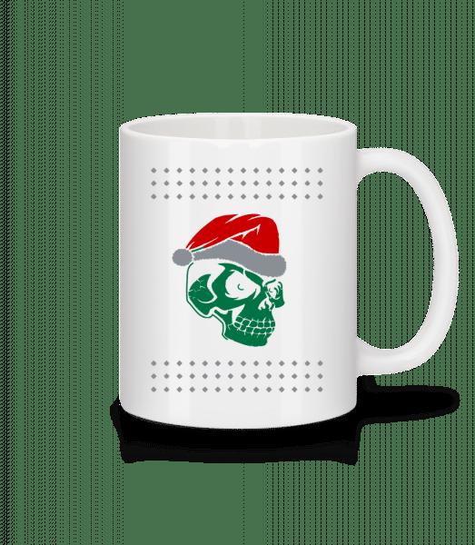 Skull Santa - Mug - White - Vorn