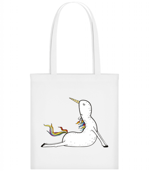 Yoga Unicorn Praying - Carrier Bag - White - Vorn