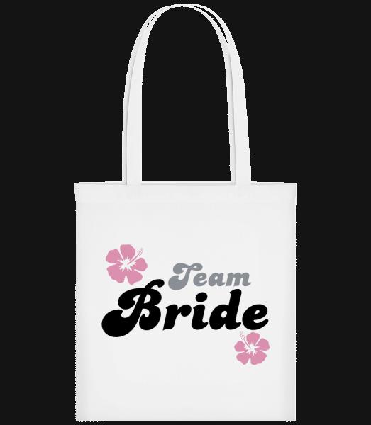 Team Bride - Carrier Bag - White - Vorn