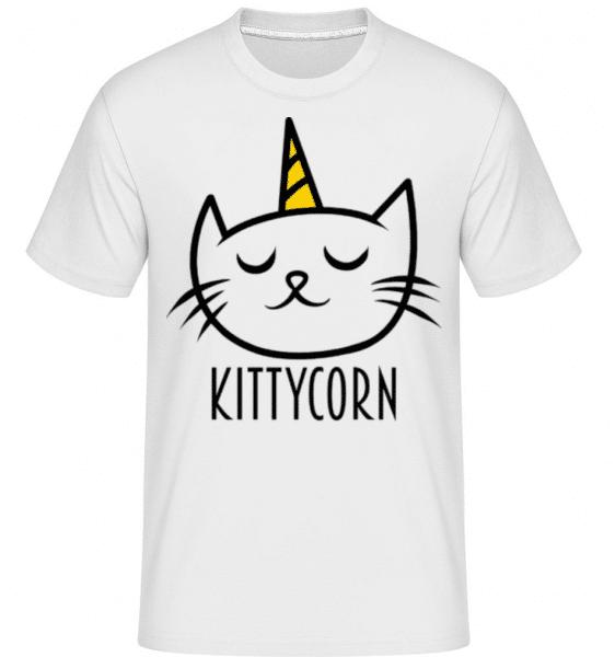 Kittycorn -  Shirtinator Men's T-Shirt - White - Front