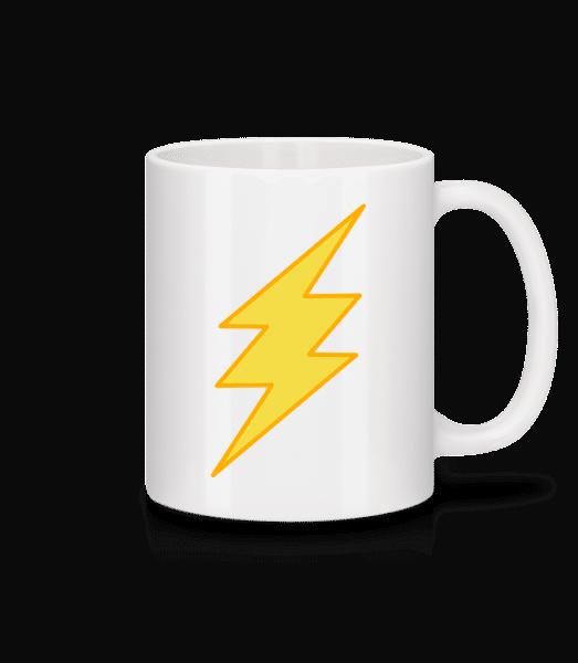 Flash Icon - Mug - White - Vorn