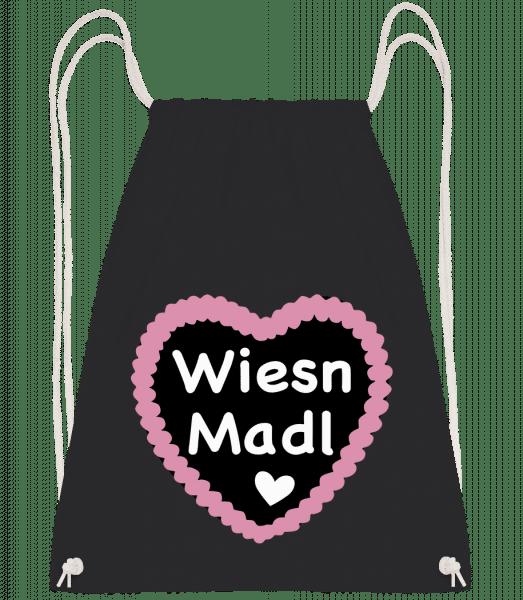 Wiesn Madl - Turnbeutel - Schwarz - Vorn