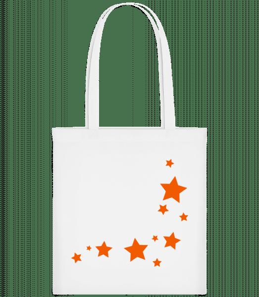 Stars - Carrier Bag - White - Vorn