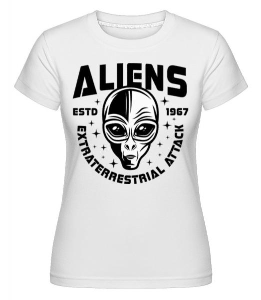 Aliens Estd 1967 - Shirtinator Frauen T-Shirt - Weiß - Vorne