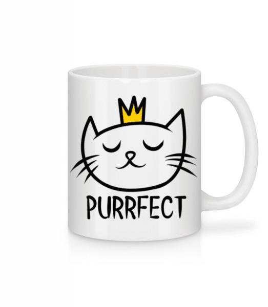 Purrfect - Mug - White - Front