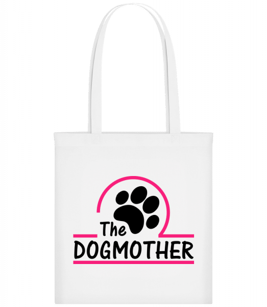 The Dogmother - Carrier Bag - White - Vorn