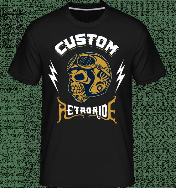 Custom Ride -  Shirtinator tričko pro pány - Černá - Napřed