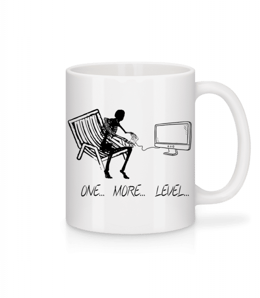 One More Level - Mug - White - Vorn
