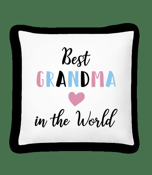 Best Grandma In The World - Kissen - Weiß - Vorn