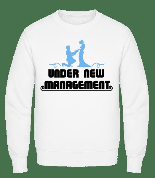 Mariage Under New Management - Classic Set-In Sweatshirt - White - Vorn