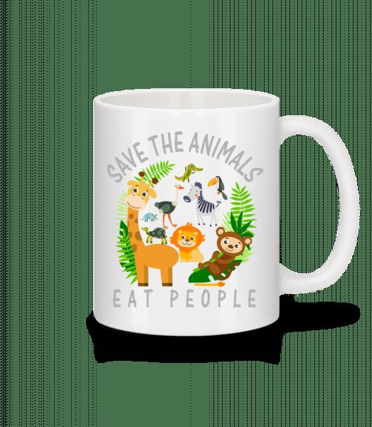 Save The Animals - Mug - White - Vorn