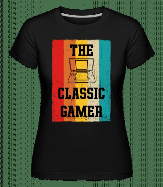 The Classic Gamer -  Shirtinator Women's T-Shirt - Black - Vorn