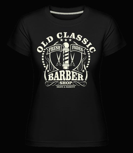 Old Classic Barber -  Shirtinator Women's T-Shirt - Black - Vorn