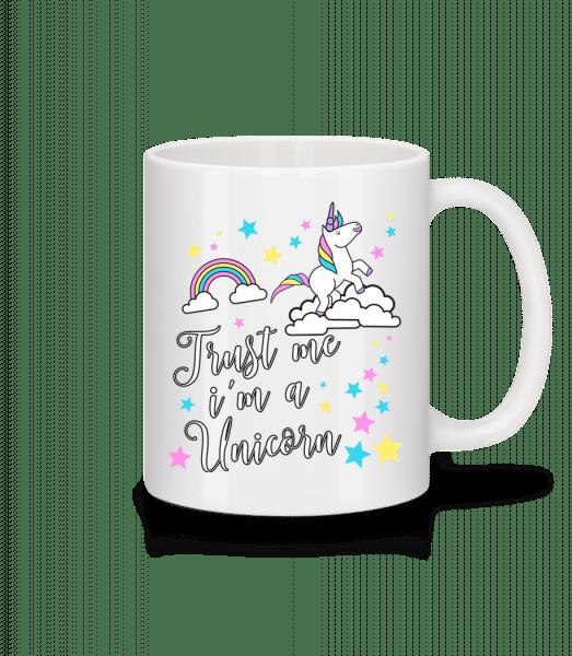 Trust Me I'm A Unicorn - Tasse - Weiß - Vorn
