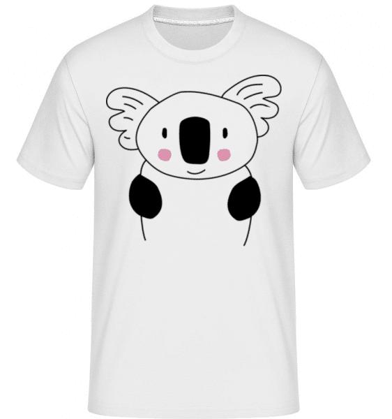 Cute Koala -  Shirtinator tričko pre pánov - Biela - Predné