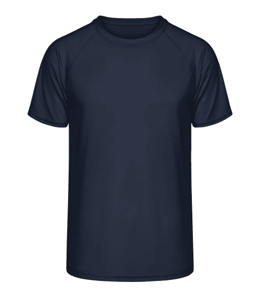 Men's Sport T-Shirt - Navy - Front