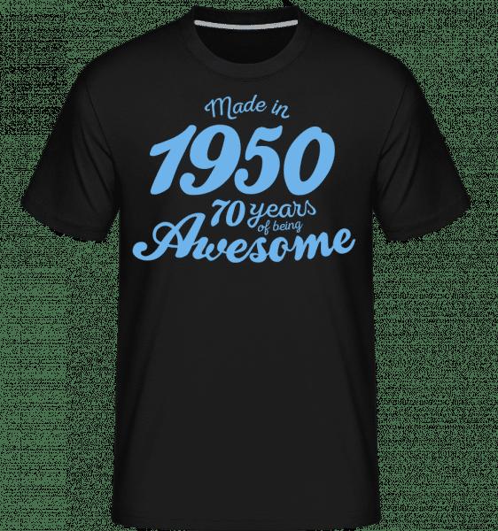 Made In 1950 70 Years -  Shirtinator Men's T-Shirt - Black - Vorn