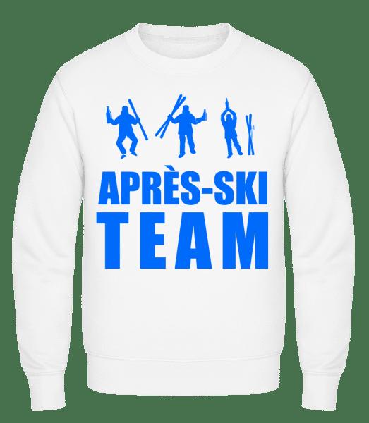 Après Ski Team - Classic Set-In Sweatshirt - White - Vorn