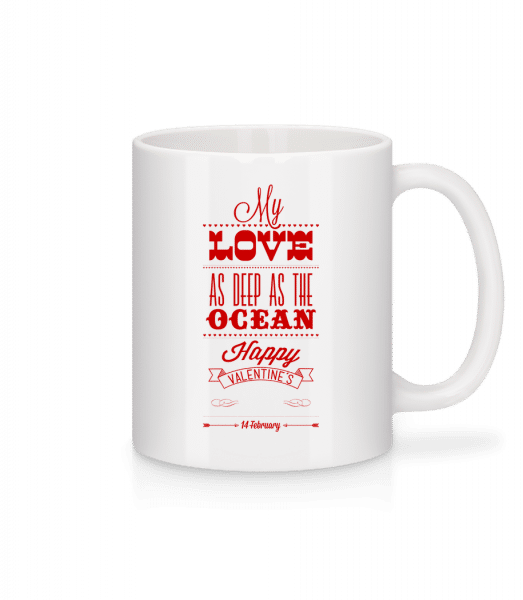 As Deep As The Ocean - Mug - White - Vorn