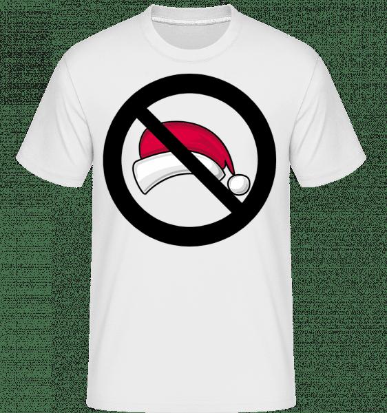 Christmas Forbidden -  Shirtinator Men's T-Shirt - White - Vorn